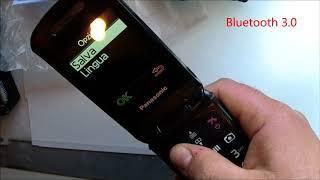 Panasonic KX TU329  telefono senior   cellulare per anziani mobile phone senior
