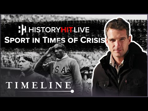 How Does Sport Function In Times of Crisis? #StayHome #WithMe | History Hit LIVE on Timeline