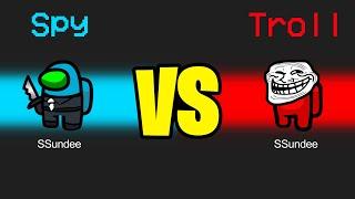 TROLL vs SPY Role in Among us