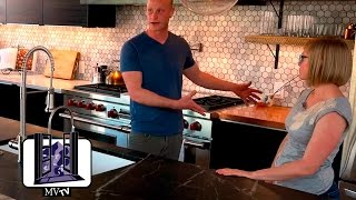MVTV - Shipping Container Home: Kitchen
