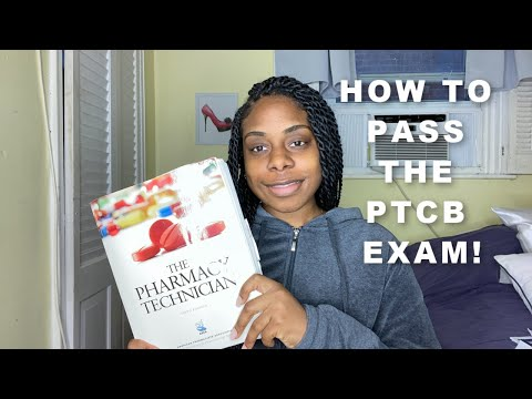 How to pass the ptcb exam in TWO WEEKS ! - YouTube