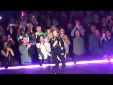 Madonna Like A Virgin ..Amazing Performance ...O2 Arena London 1st December 2015