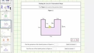 Determine the Perimeter and Area of an Irregular Polygon