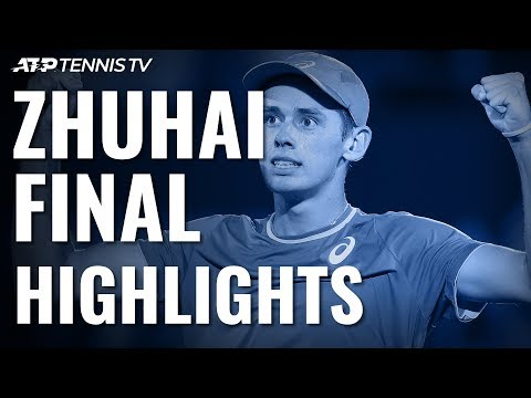 De Minaur Beats Mannarino to Zhuhai Title! | Zhuhai 2019 Final Highlights