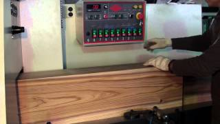 SKG 300 8 Spindle Test Run Wood House Block