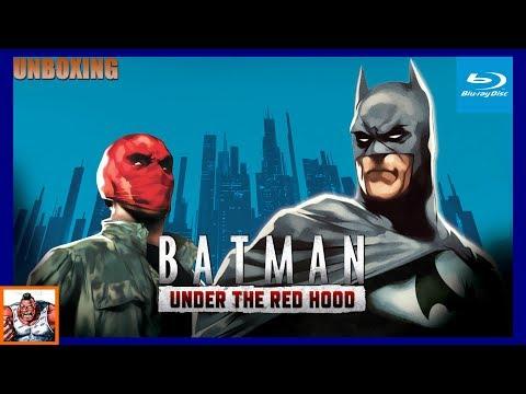 Batman Under the Red Hood Best Buy Exclusive figure Blu Ray Unboxing