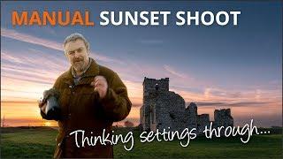 Manual Sunset Shoot