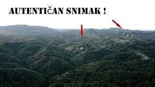 Dron snimio 2 UFO objekta iznad Hrvatske...NOVO !!