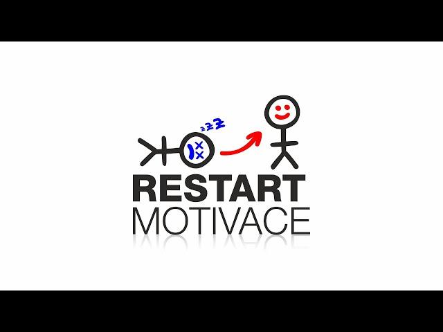 RESTART MOTIVACE #01: Pravidelný webinář osobního rozvoje zdarma