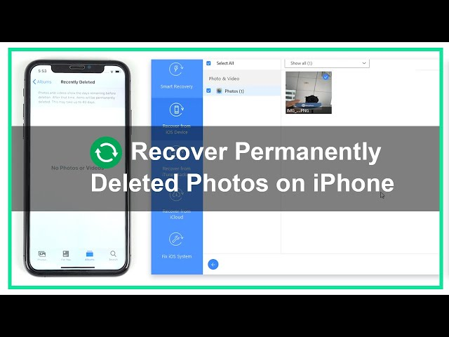 How to Recover Permanently Deleted Photos from iPhone (iOS 14 Supported)