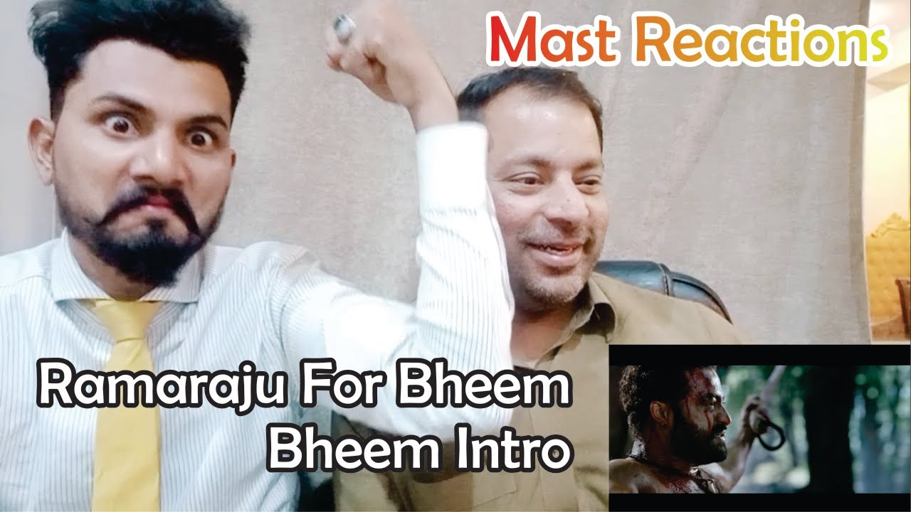 Ramaraju For Bheem Reactions