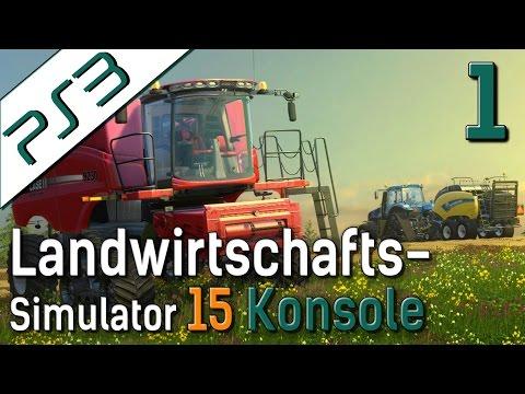 LS15 auf Konsole PS3 Landwirtschafts Simulator auf der PlayStation deutsch HD