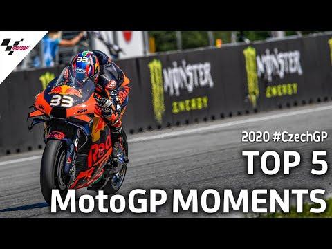 MotoGP チェコGP KTMのブラッド・ビンダーが初優勝を決めた決勝レースのハイライト動画