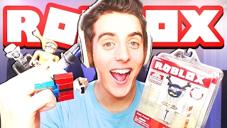 NEW ROBLOX TOYS UNBOXING!!