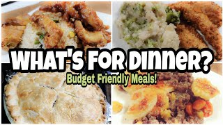 What's For Dinner?   Budget Friendly Dinner Ideas   Easy Recipes