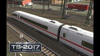 Train SImulator 2017 | ICE 109 Dortmund Basel umgeleitet mit Sound Mod und Ansagen