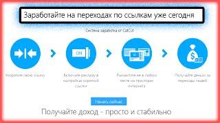 Catcut заработок на ссылках самый легкий заработок в интернете без вложений