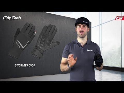 GripGrab Optimus handsker sort video