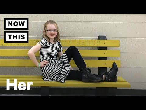 Little Girl Makes Sure Nobody Is Alone at Recess | NowThis