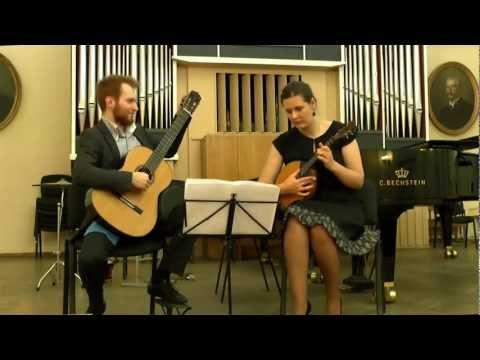 Marko Topchii and Natalya Geri - Astor Piazzolla in the Tchaikovsky National Music Academy - Ukraine