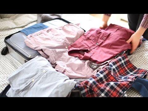6 Tipps: Koffer richtig packen - platzsparend & knitterfrei