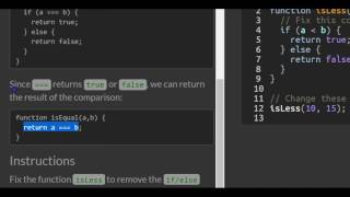 Returning Boolean Values from Functions, freeCodeCamp Basic Javascript