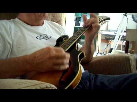 """Home Sweet Home"" Bluegrass Song On Mandolin"