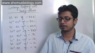 Linkage mapping problem three point cross | CSIR NET analytical practice problems in part c