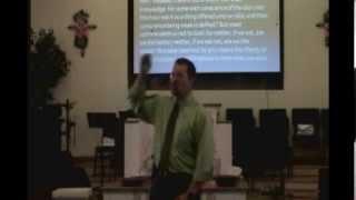 """Pastor Doug Godfrey - """"Fading Away"""""""