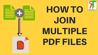 How to join two PDF - How to merge multiple PDF Files - दो PDF को JOIN कैसे करे