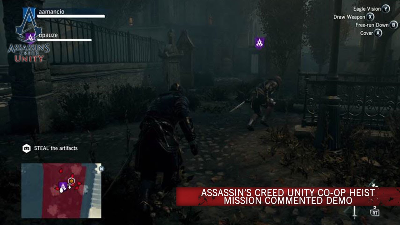 Slick, Stealthy Co-Op Footage Of Assassin's Creed Unity