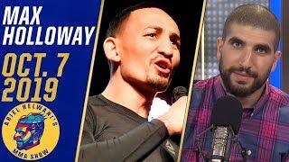 Max Holloway critiques Conor McGregor's focus, previews Volkanovski fight   Ariel Helwani's MMA Show