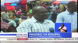 Masoko ya Kisumu: Korona yaadhiri baadhi ya sehemu za biashara, soko la Kibuye labaki mahame