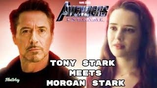 Avengers: Endgame UNSEEN deleted scenes | Morgan Stark Deleted Scene | 2019