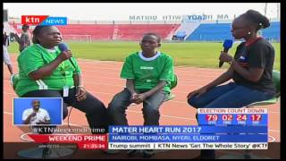 Thousands of Nairobians throng Nyayo National Stadium in support to the Mater Heart run 2017