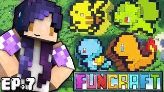 Pixel Pokemon Builds | FunCraft Minecraft Ep. 7