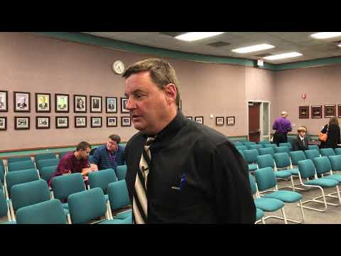 Video: Michael Hughes talks about school board budget vote and maintenance of effort