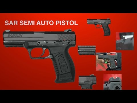 SAR ARMS Has A Pistol For You