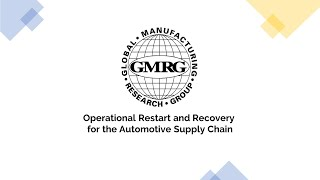 Operational Restart and Recovery for the Automotive Supply Chain