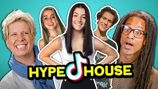 Parents React To The TikTok Hype House Stars (Charli D'Amelio, Addison Rae, Lil Huddy)