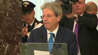 Il Presidente Gentiloni interviene alla Corte dei Conti (13/02/2018)