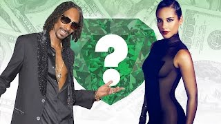 WHO'S RICHER? - Snoop Dogg or Alicia Keys? - Net Worth Revealed!