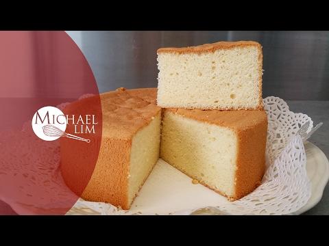 Video Vanilla Sponge Cake