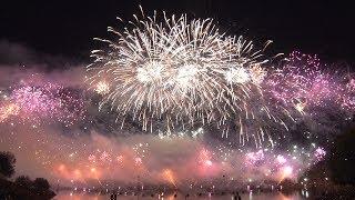 Das Feuerwerk beim Münchner Sommernachtstraum 2018 #atraum