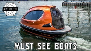 7 Awesome Watercraft and Mini Boats that YOU MUST SEE