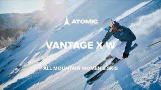 Видеообзор: Женские горные лыжи Atomic Vantage X W All Mountain
