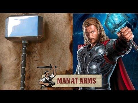 Xem cây búa của Thor được chế tạo như thế nào nhé