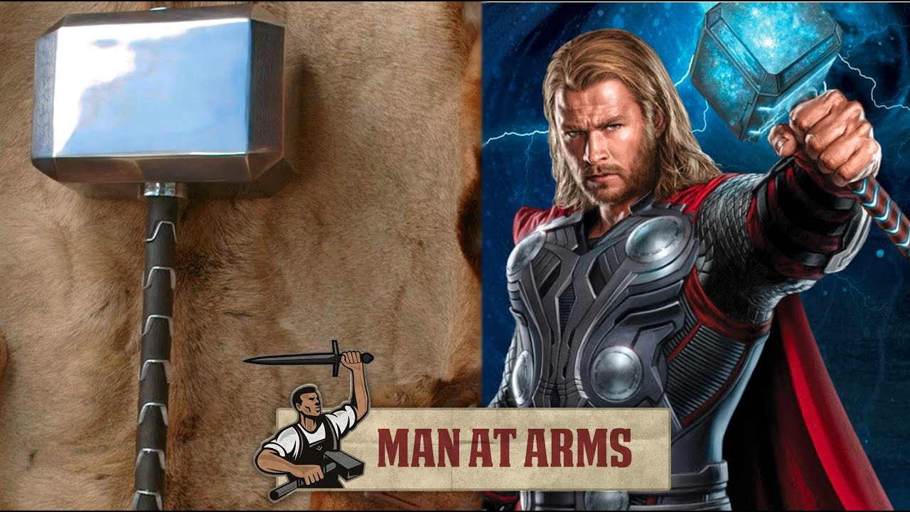 He Crafted Thor's Mighty Mjölnir, Then Smashed Stuff With It