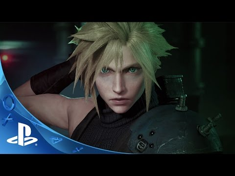 PlayStation Experience 2015: Final Fantasy VII Remake - PSX 2015 Trailer   PS4