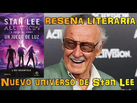 Reseña literaria: Alliances, un juego de Luz. El nuevo universo de Stan Lee